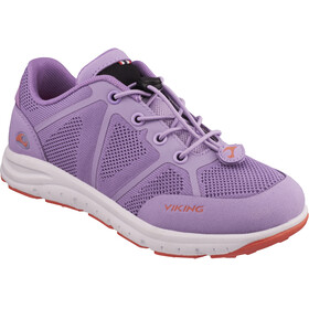 Viking Footwear Ullevaal Shoes Juniors Lavender/Coral